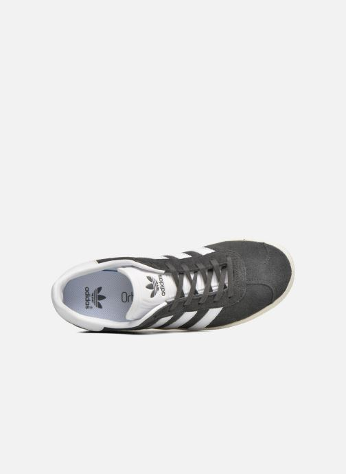 Trainers Adidas Originals Gazelle J Grey view from the left