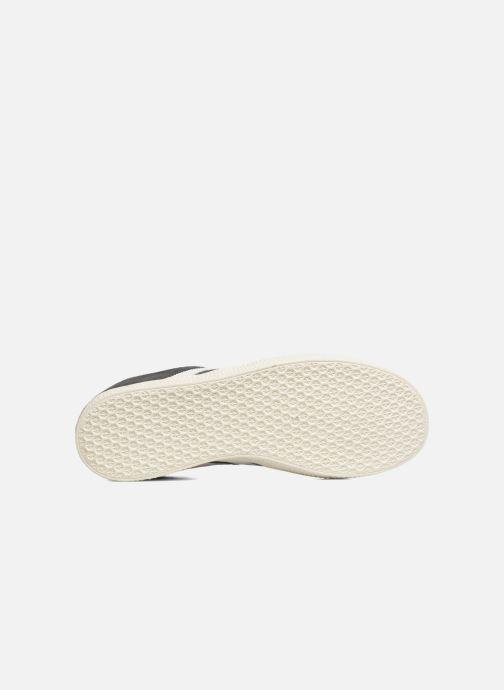 Baskets Adidas Originals Gazelle J Gris vue haut