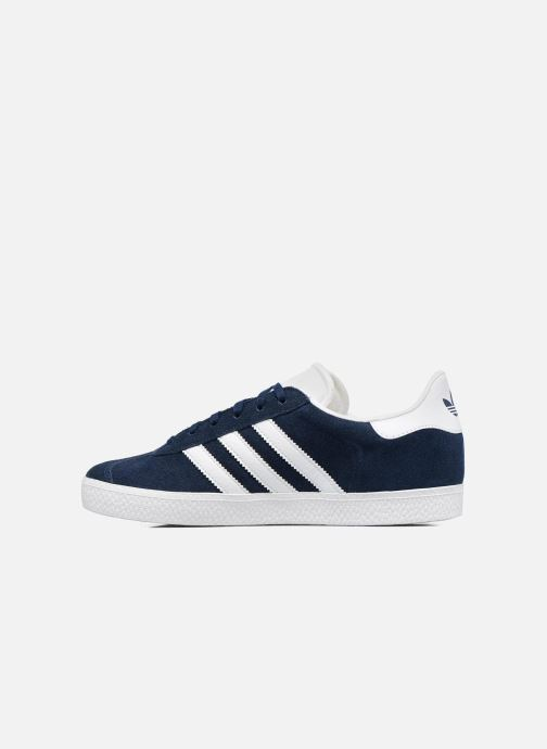 Sneakers adidas originals Gazelle J Blauw voorkant