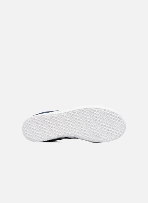 Sneaker adidas originals Gazelle J blau ansicht von oben