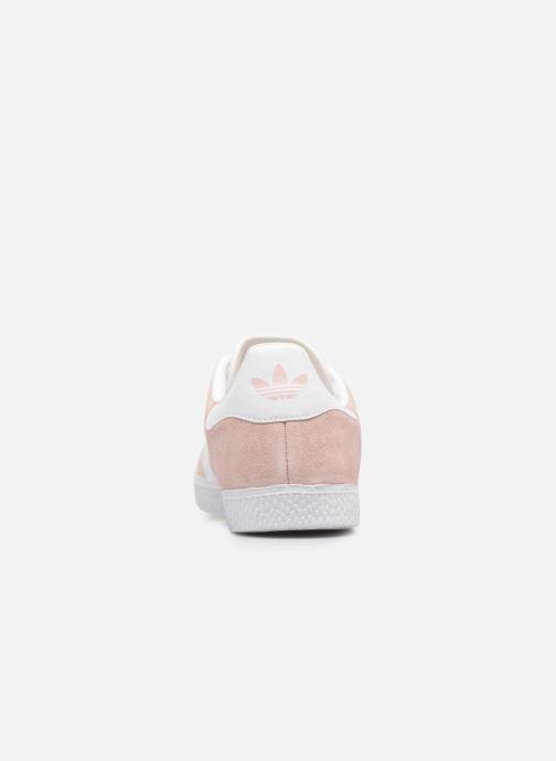 Sneakers adidas originals Gazelle J Roze rechts