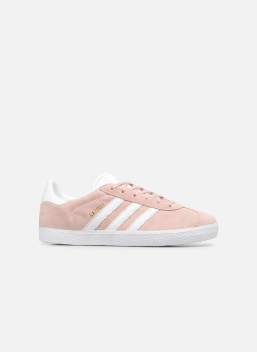 Trainers Adidas Originals Gazelle J Pink back view