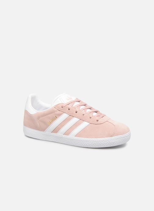 Trainers adidas originals Gazelle J Pink detailed view/ Pair view