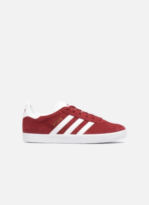 Baskets adidas originals Gazelle J Rouge vue derrière