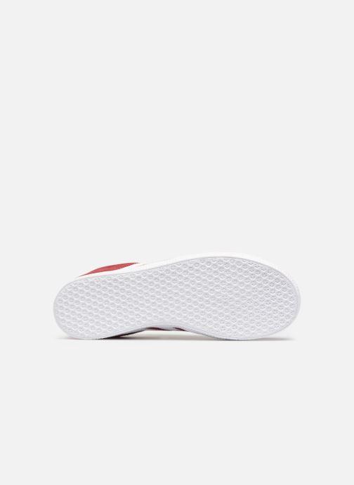 Sneaker adidas originals Gazelle J rot ansicht von oben