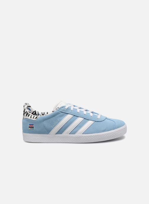 Sneaker Adidas Originals Gazelle J blau ansicht von hinten