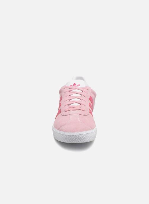 adidas originals Gazelle J clear pinkreal magentaftwr
