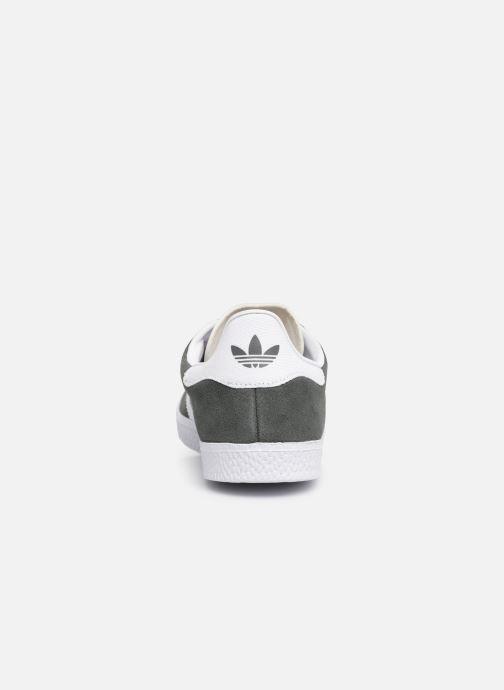Sneaker adidas originals Gazelle J grau ansicht von rechts