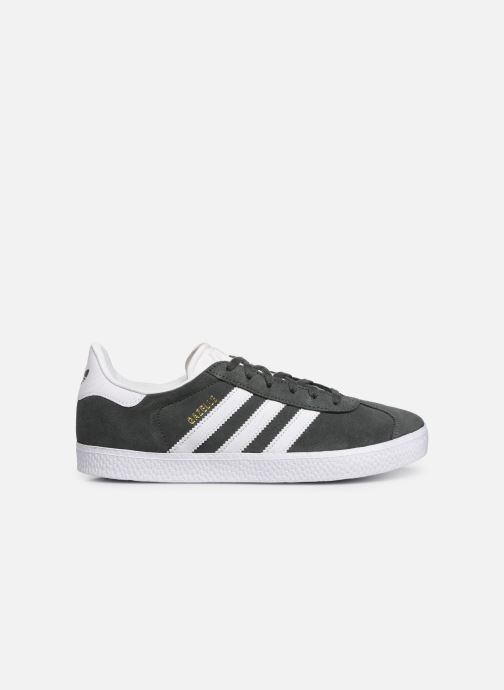 Sneaker adidas originals Gazelle J grau ansicht von hinten