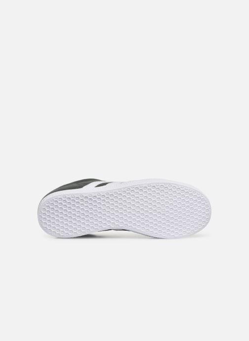 Sneaker adidas originals Gazelle J grau ansicht von oben