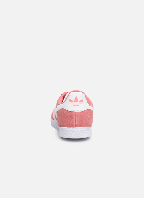 Trainers adidas originals Gazelle J Pink view from the right