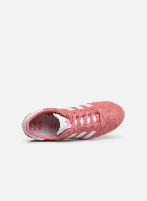 Trainers adidas originals Gazelle J Pink view from the left