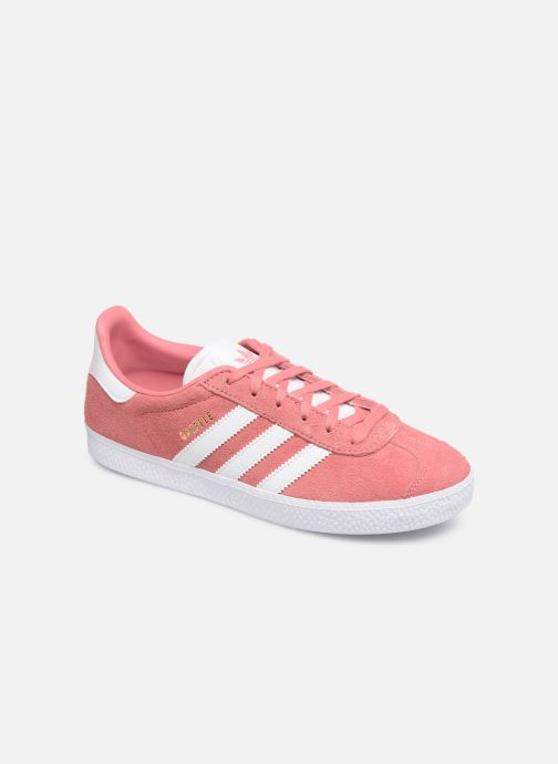 Trainers adidas originals Gazelle J Pink detailed view/ Pair view
