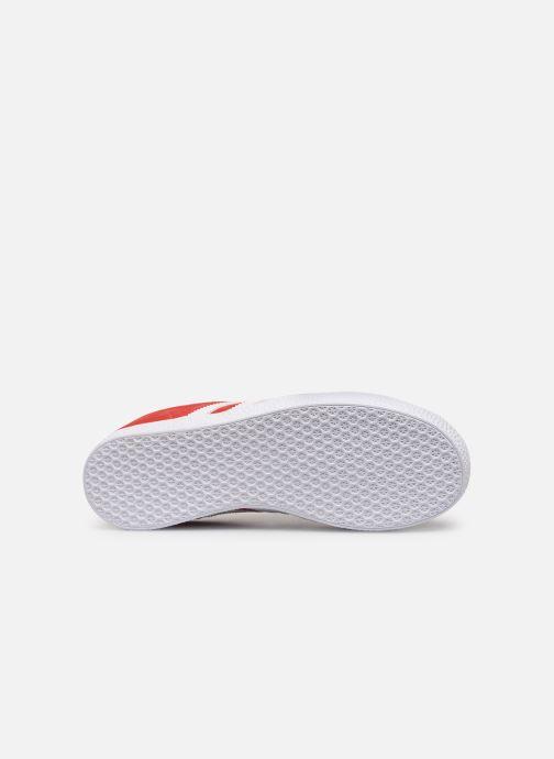Sneakers adidas originals Gazelle J Rood boven