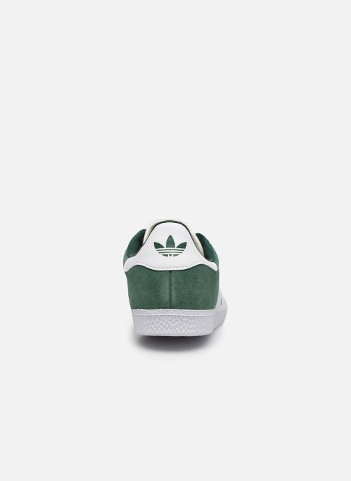 Baskets adidas originals Gazelle J Vert vue droite