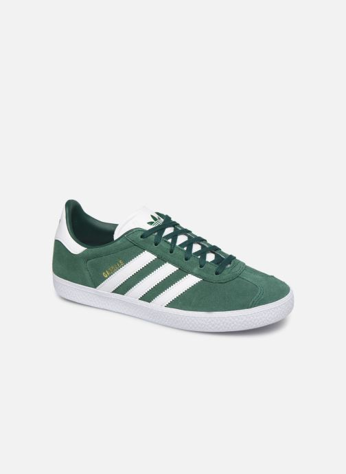Deportivas adidas originals Gazelle J Verde vista de detalle / par