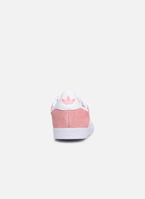 Sneaker adidas originals Gazelle J rosa ansicht von rechts
