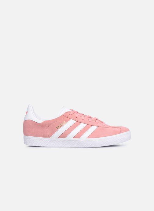 Sneaker adidas originals Gazelle J rosa ansicht von hinten