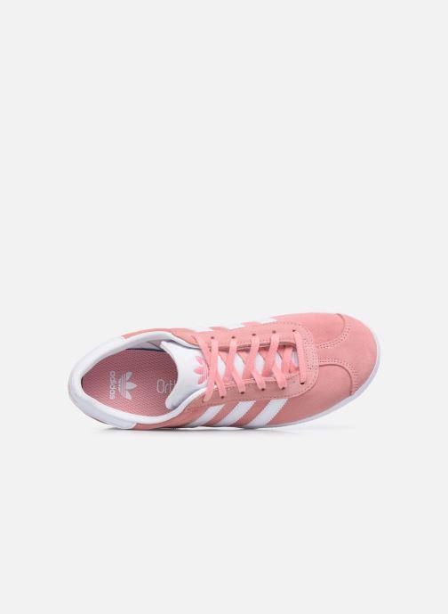Sneaker adidas originals Gazelle J rosa ansicht von links