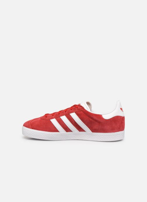 Sneakers adidas originals Gazelle J Rosso immagine frontale