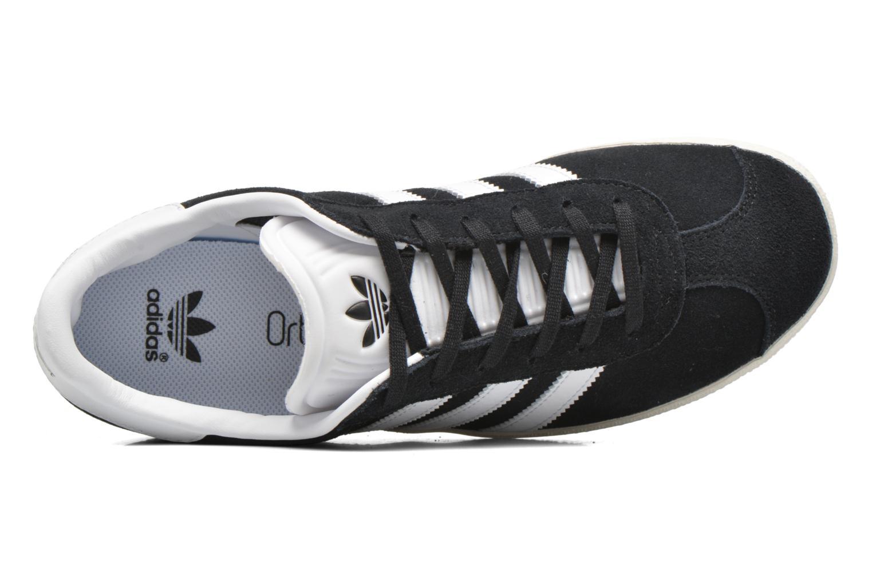 Sneakers Adidas Originals Gazelle J Nero immagine sinistra