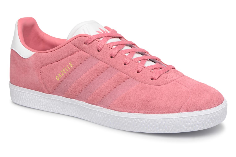 Baskets Adidas Originals Gazelle J Rose vue détail/paire