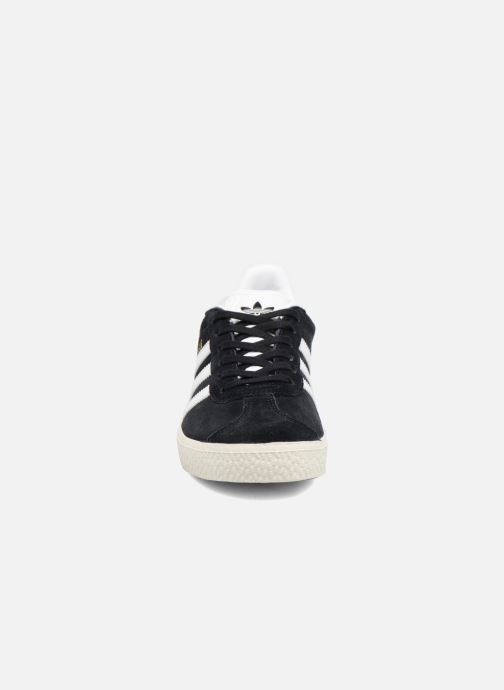 Trainers Adidas Originals Gazelle C Black model view