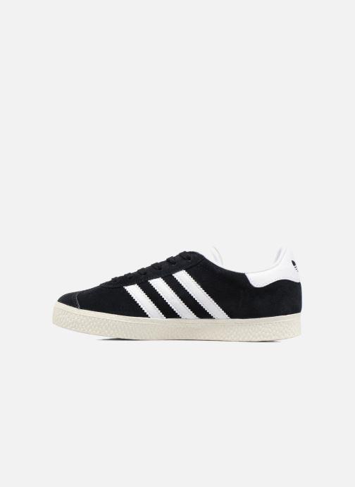 Sneakers adidas originals Gazelle C Zwart voorkant