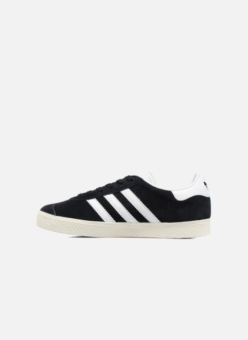 Baskets adidas originals Gazelle C Noir vue face