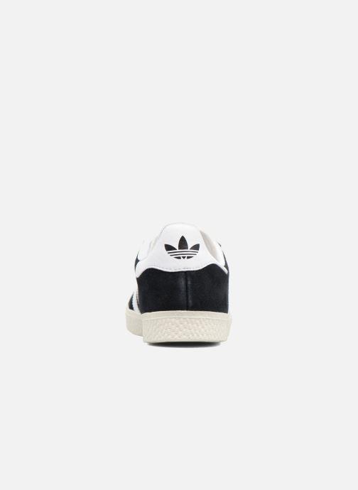 Baskets adidas originals Gazelle C Noir vue droite