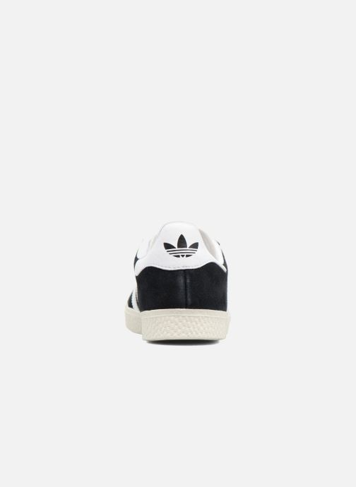 Trainers Adidas Originals Gazelle C Black view from the right