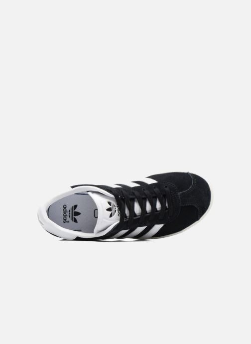 Trainers Adidas Originals Gazelle C Black view from the left