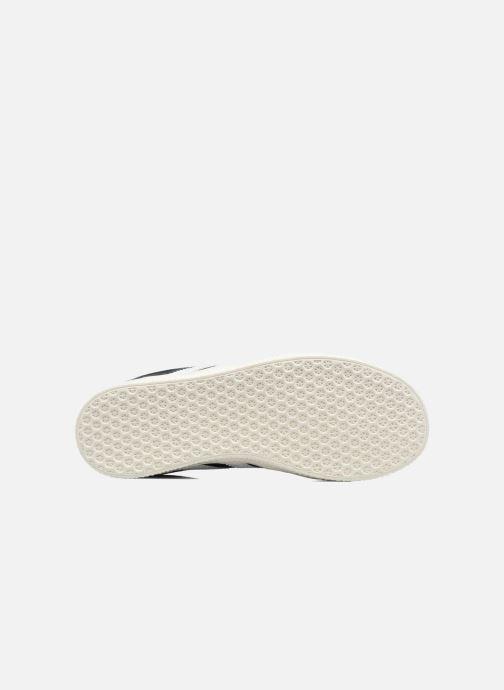Baskets adidas originals Gazelle C Noir vue haut