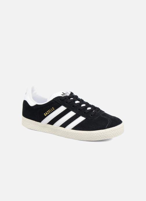 Baskets adidas originals Gazelle C Noir vue détail/paire