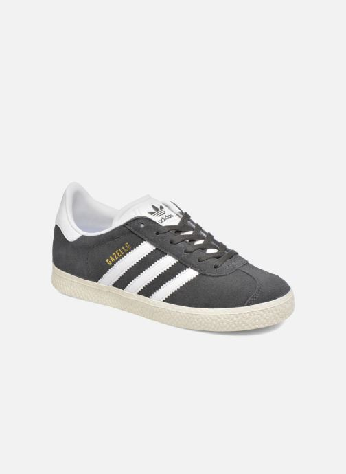 Trainers Adidas Originals Gazelle C Grey detailed view/ Pair view