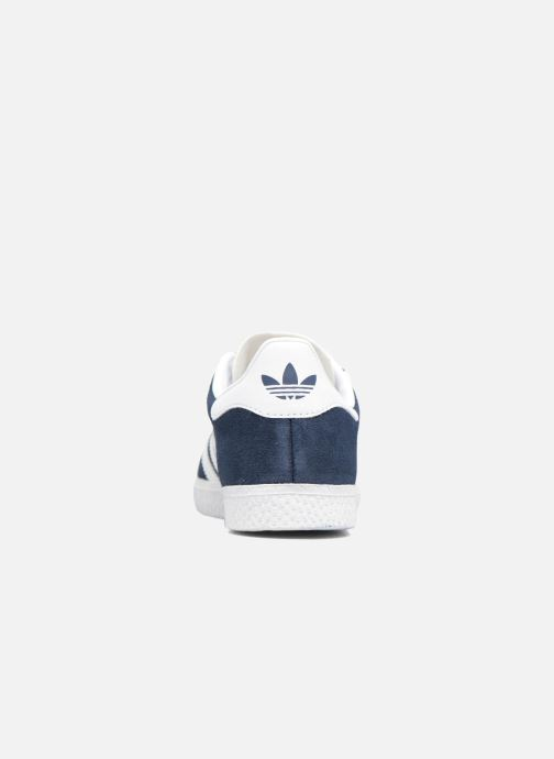 Trainers Adidas Originals Gazelle C Blue view from the right