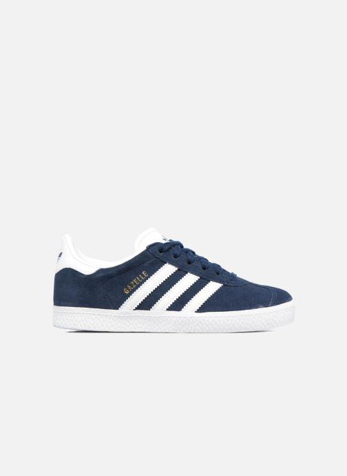 Sneakers adidas originals Gazelle C Blauw achterkant