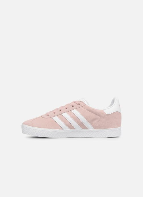 Baskets adidas originals Gazelle C Rose vue face
