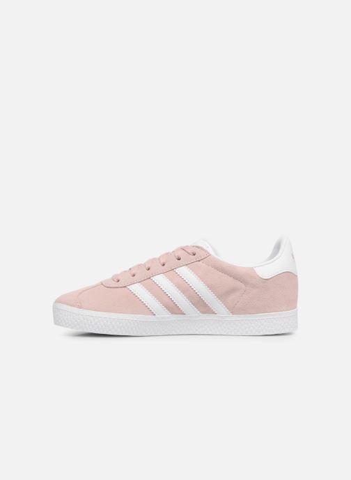Sneaker adidas originals Gazelle C rosa ansicht von vorne