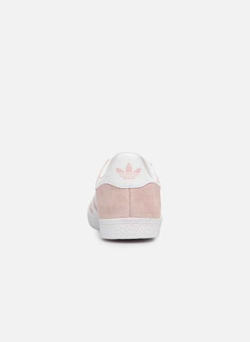 Baskets adidas originals Gazelle C Rose vue droite