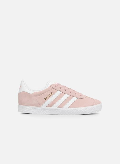 Baskets adidas originals Gazelle C Rose vue derrière