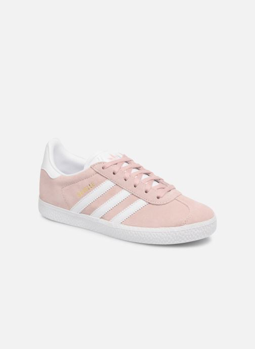 Baskets adidas originals Gazelle C Rose vue détail/paire