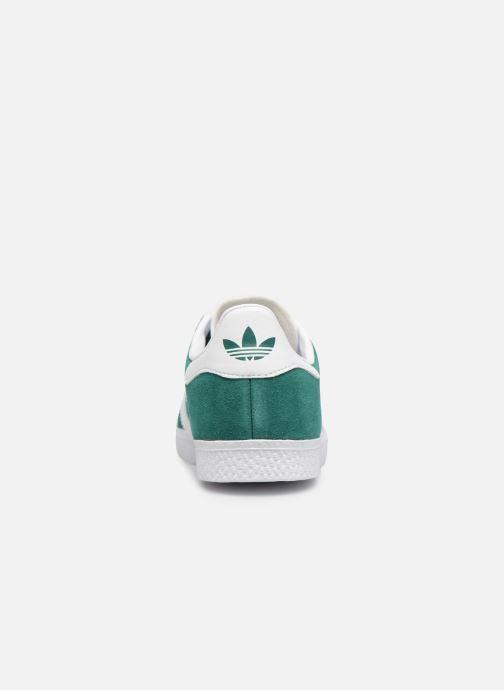 Sneakers Adidas Originals Gazelle C Verde immagine destra