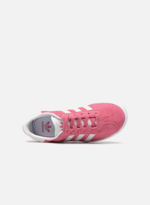 Sneakers Adidas Originals Gazelle C Rosa immagine sinistra
