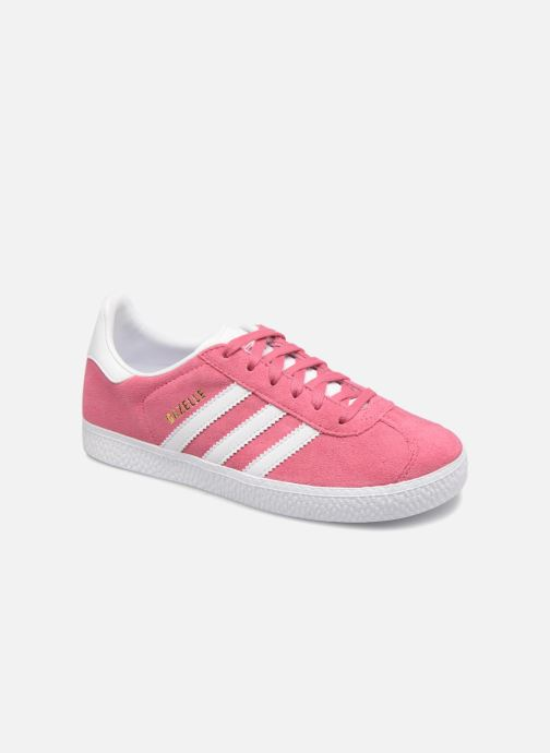 Sneakers adidas originals Gazelle C Roze detail
