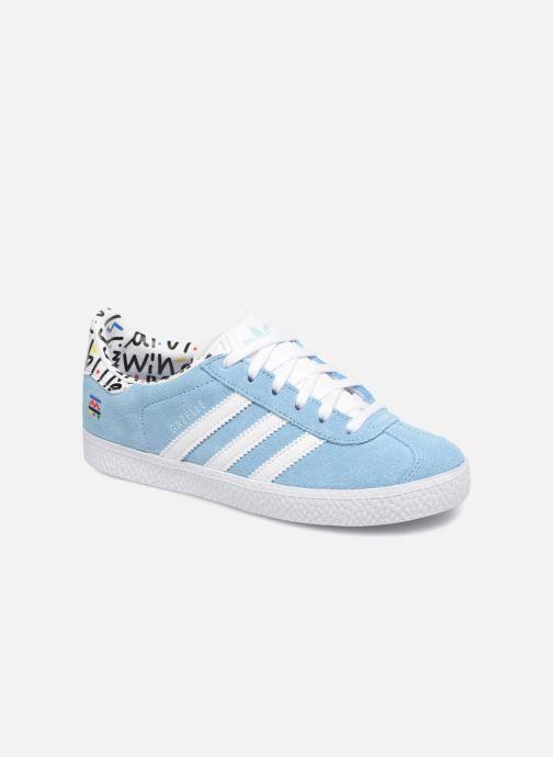 6751caa3875b40 Adidas Originals Gazelle C (Bleu) - Baskets chez Sarenza (344554)