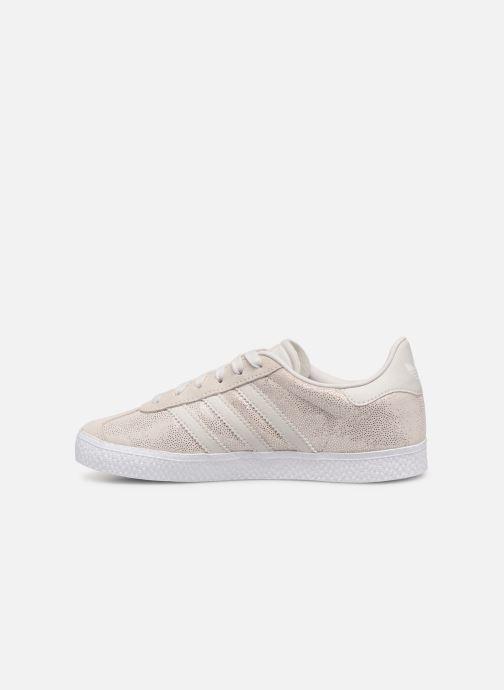 Sneakers adidas originals Gazelle C Grijs voorkant