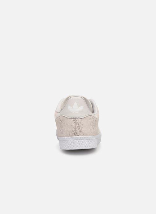 Sneakers adidas originals Gazelle C Grijs rechts