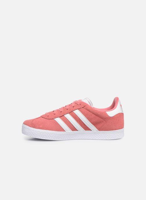 Trainers adidas originals Gazelle C Pink front view