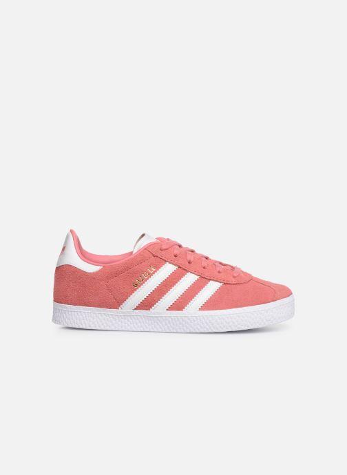Sneakers adidas originals Gazelle C Roze achterkant